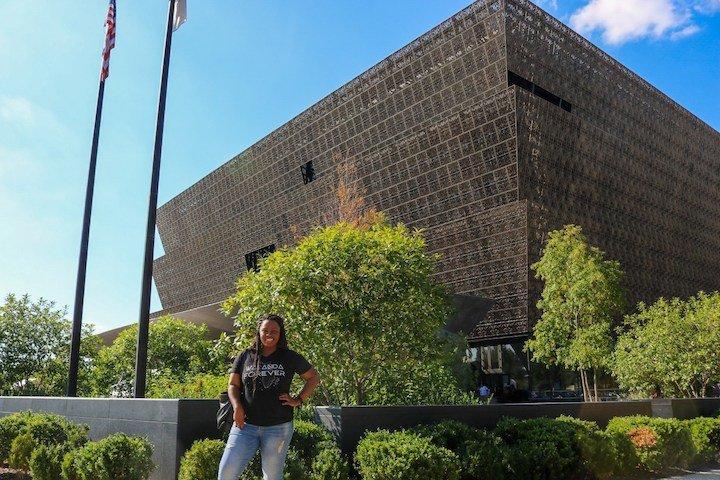 BTA BHM National Museum of African American History Kim Hawk