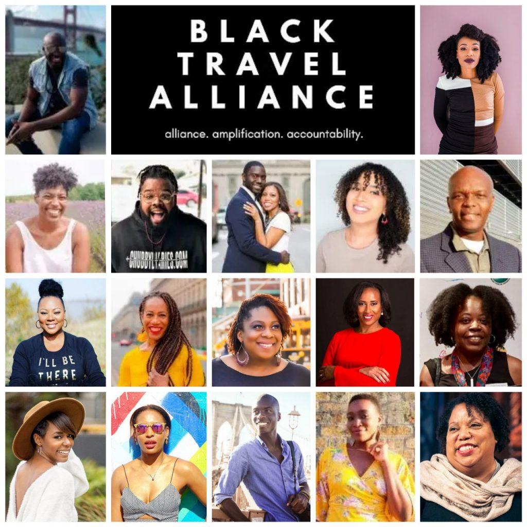 Black Travel Alliance Board Members.