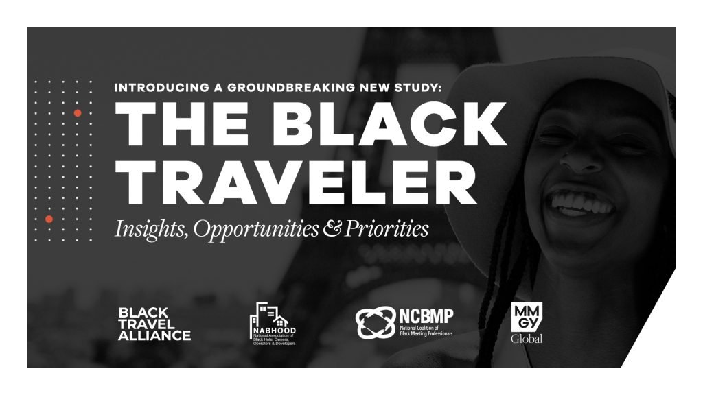 MMGY The Black Traveler study in partnership with the Black Travel Alliance.